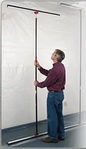 ZipWall at Marshall Johnson Painting.com