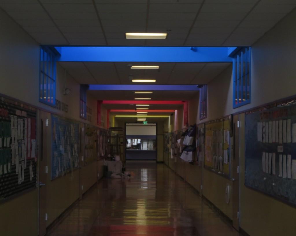 Cox ceiling dark